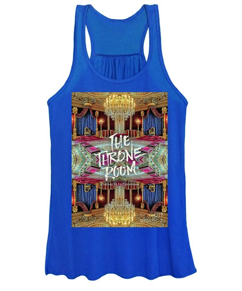 The Throne Room Fontainebleau Chateau Gorgeous Royal Interior Women's Tank Top