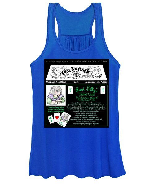 Real Fake News Tilly's Travel Card Women's Tank Top