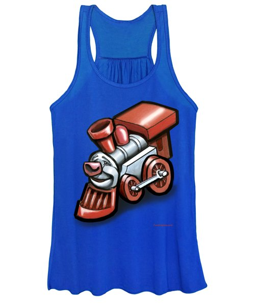 Toy Train Women's Tank Top