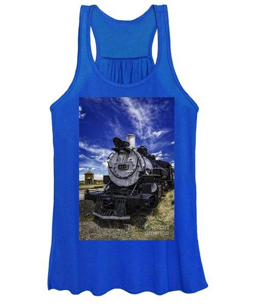 Train Kept A Rollin Women's Tank Top