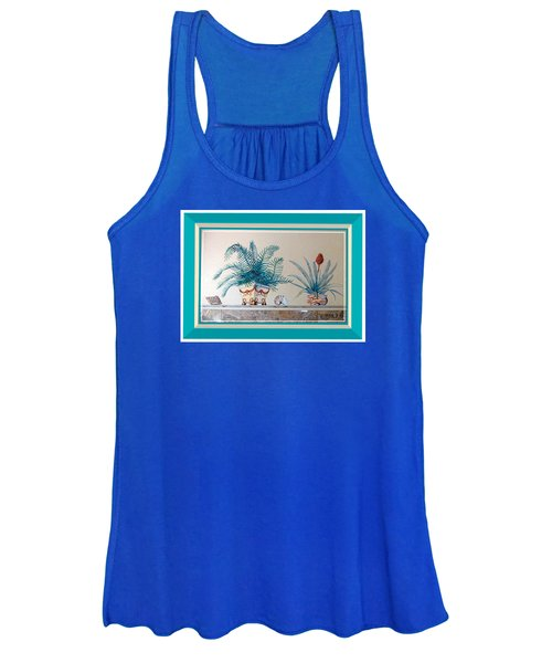 Trompe L'oeil Plants Women's Tank Top