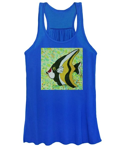 Tropical Fish Series 1 Of 4 Women's Tank Top