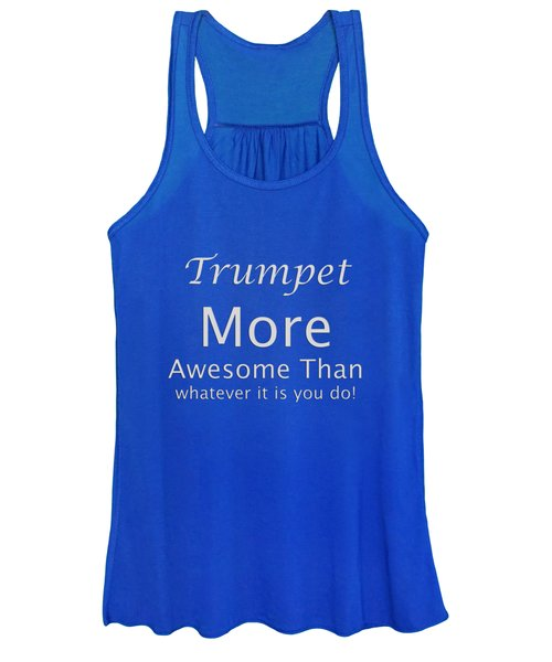 Trumpets More Awesome Than You 5555.02 Women's Tank Top