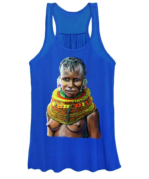 Turkana Girl Women's Tank Top