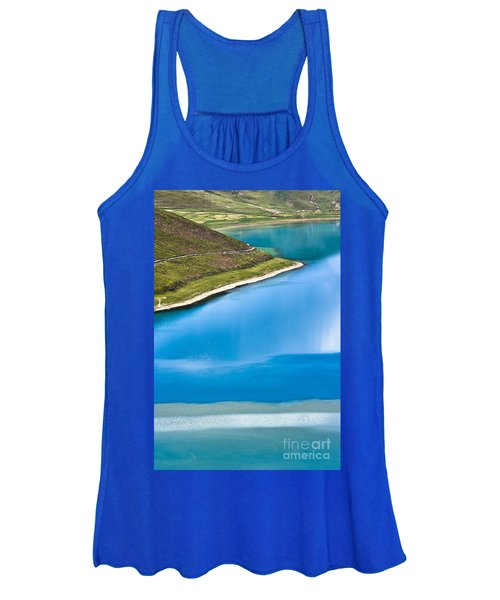 Turquoise Water Women's Tank Top