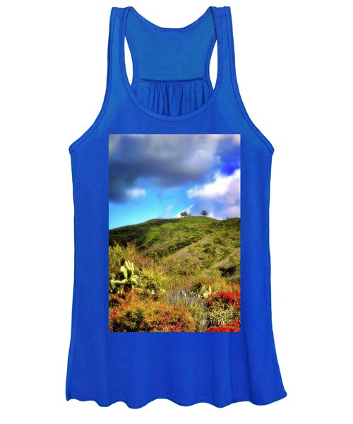 Two Trees In Spring Women's Tank Top