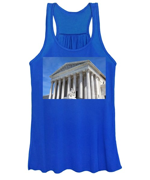 United States Supreme Court Building Women's Tank Top