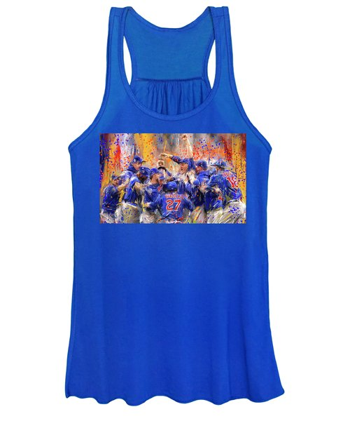 Victory At Last - Cubs 2016 World Series Champions Women's Tank Top