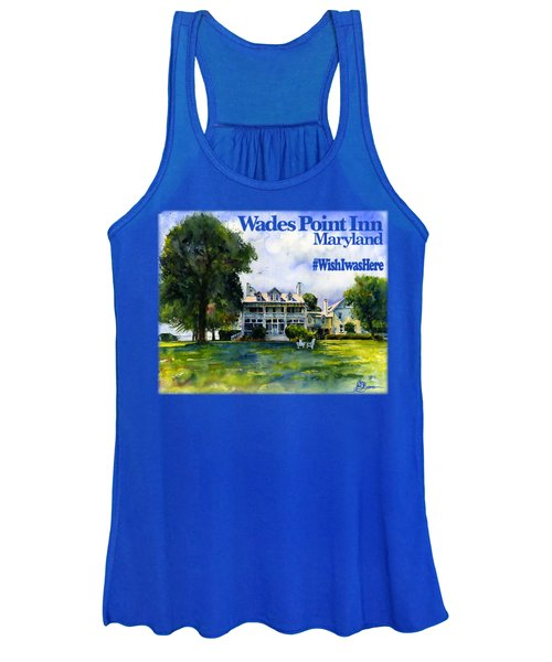 Wades Point Inn Shirt Women's Tank Top