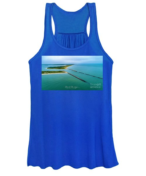 Waquiot Bay Breakwater Women's Tank Top
