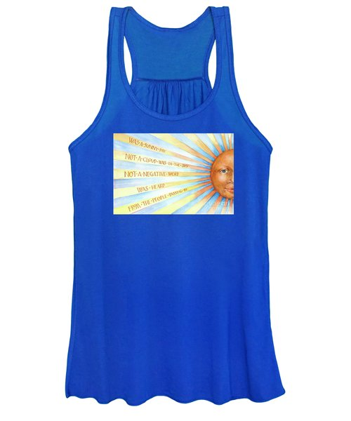 Was A Sunny Day Women's Tank Top