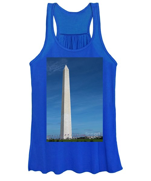 Washington Monument Women's Tank Top