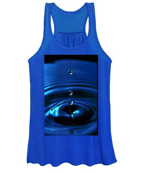 Water Drop Women's Tank Top
