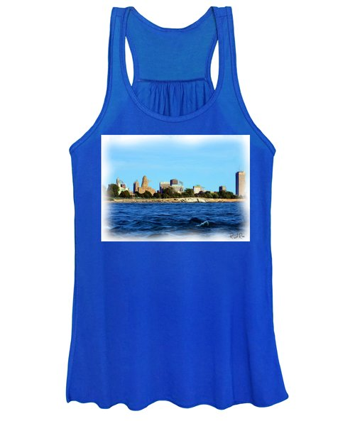 Waterfront Decay Four Women's Tank Top