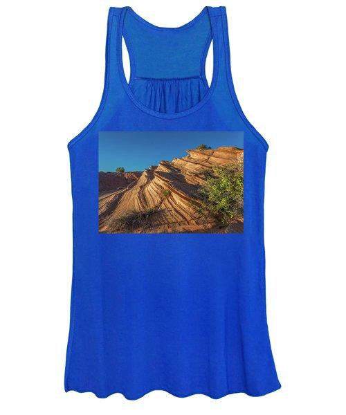 Waterhole Canyon Rock Formation Women's Tank Top