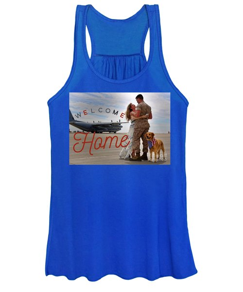 Welcome Home Women's Tank Top