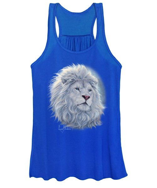 White Lion Women's Tank Top