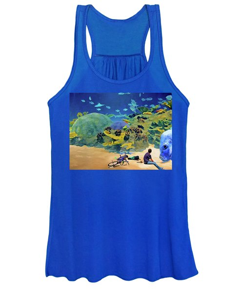 Who's Fishing? Women's Tank Top