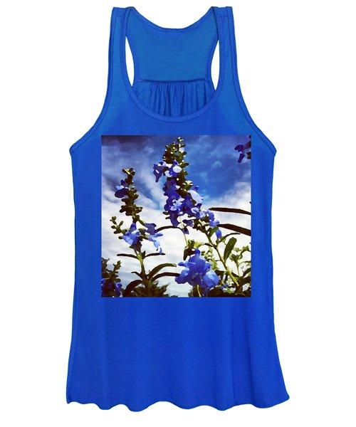 Wild Blue Sage  Women's Tank Top