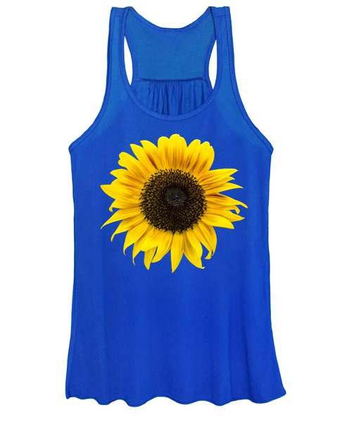 Wild Sunflower Women's Tank Top