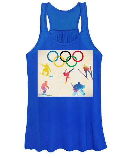 Winter Olympics Games Women's Tank Top