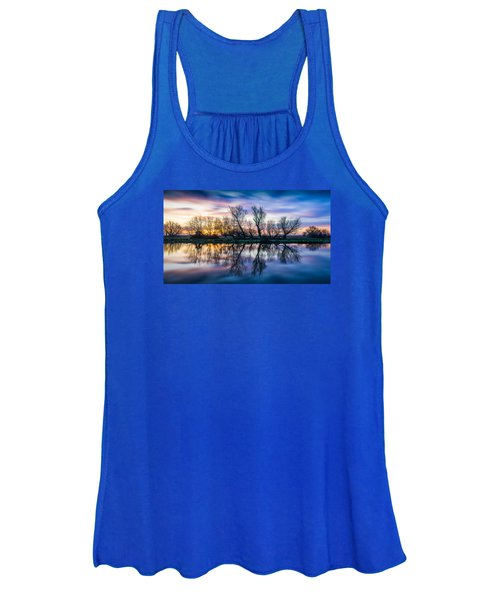 Winter Sunrise Over The Ouse Women's Tank Top