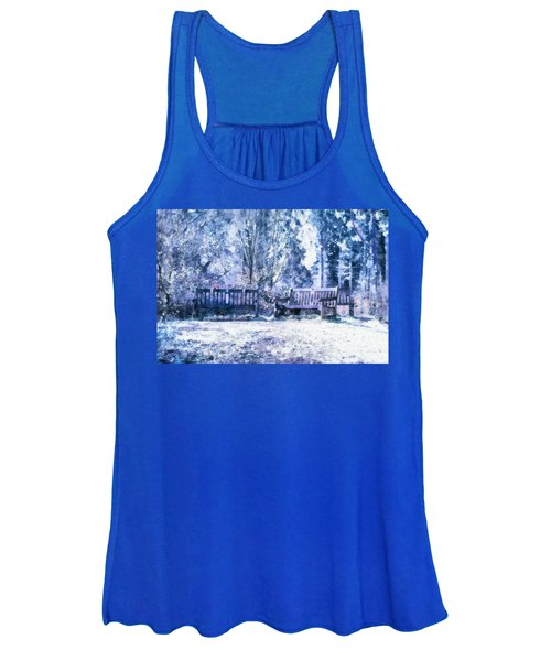 Woodland Snow  Women's Tank Top