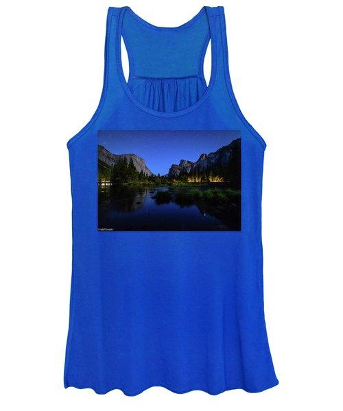 Yosemite Nights Women's Tank Top