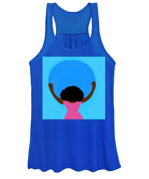You Can Carry The Moon 103 Women's Tank Top