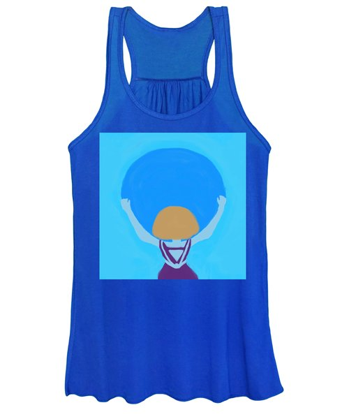 You Can Carry The Moon Women's Tank Top