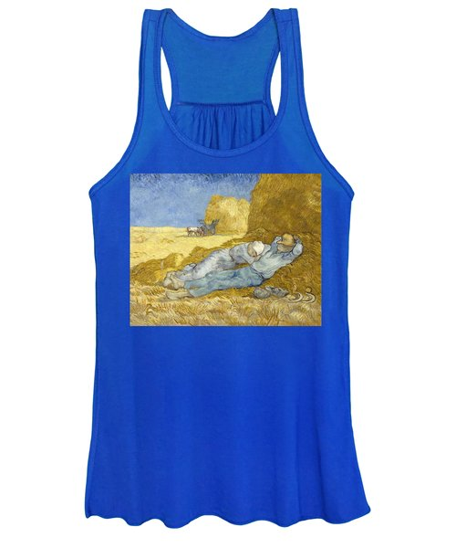 Noon - Rest From Work Women's Tank Top