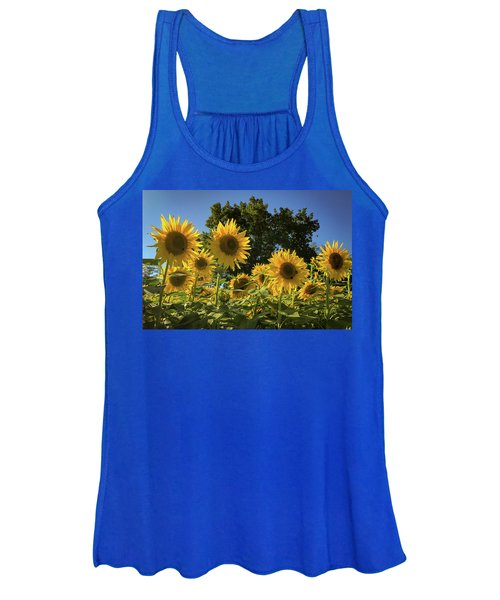 Sunlit Sunflowers Women's Tank Top