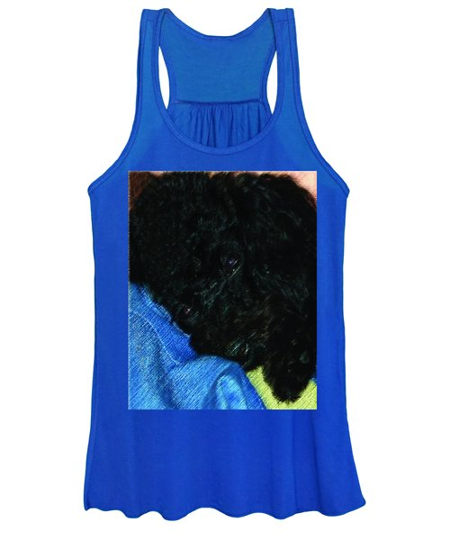 122718 Secure In Daddys Arms Women's Tank Top