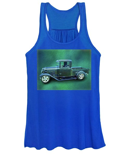 1934 Ford Pickup Women's Tank Top