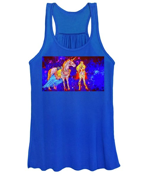 She - Ra And Swift Wind Women's Tank Top