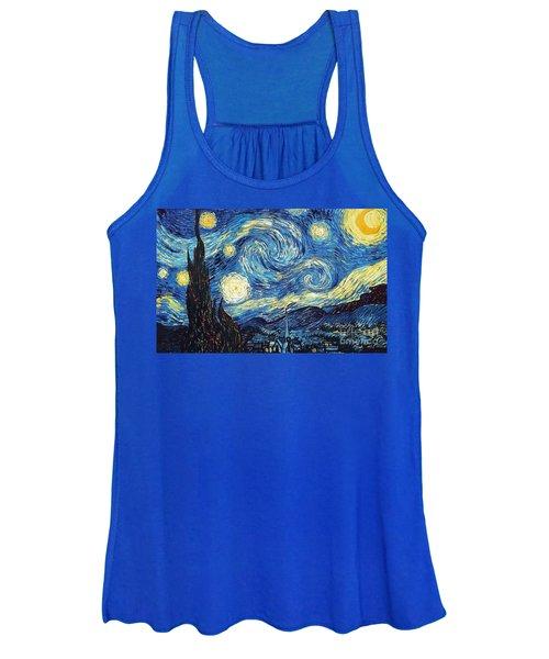 Starry Night By Van Gogh Women's Tank Top