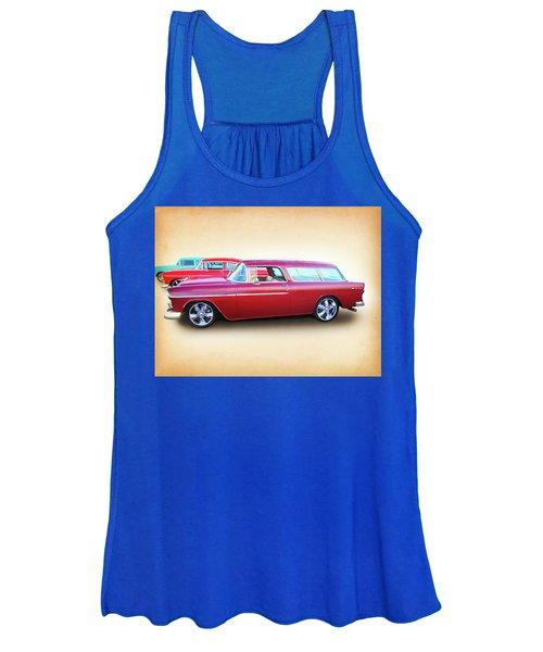 3 - 1955 Chevy's Women's Tank Top