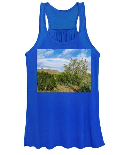 After An Arizona Winter Rain Women's Tank Top