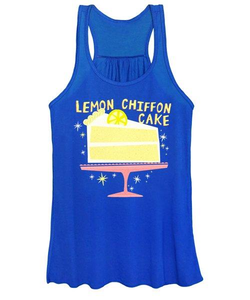 All American Classic Lemon Chiffon Cake Women's Tank Top