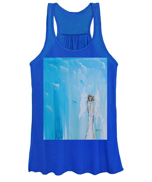 Angel Of Simplicity Women's Tank Top