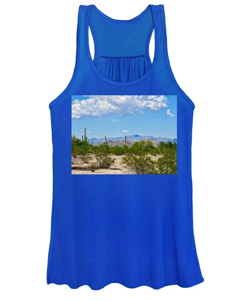 Arizona Desert Hidden Valley Women's Tank Top