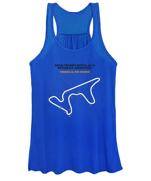 Moto Gp Argentina Women's Tank Top