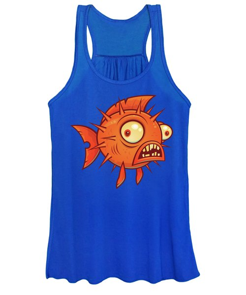 Pufferfish Women's Tank Top