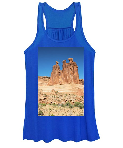 Balanced Rocks In Arches Women's Tank Top