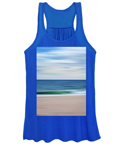 Beach Blur Women's Tank Top