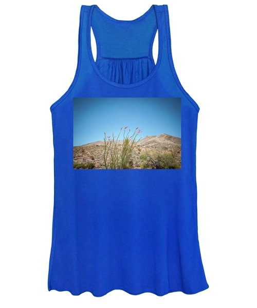 Blooming Ocotillo Women's Tank Top