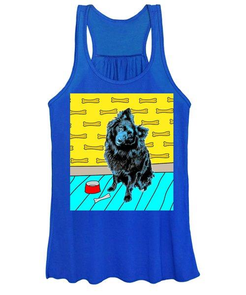 Blue Dog Women's Tank Top