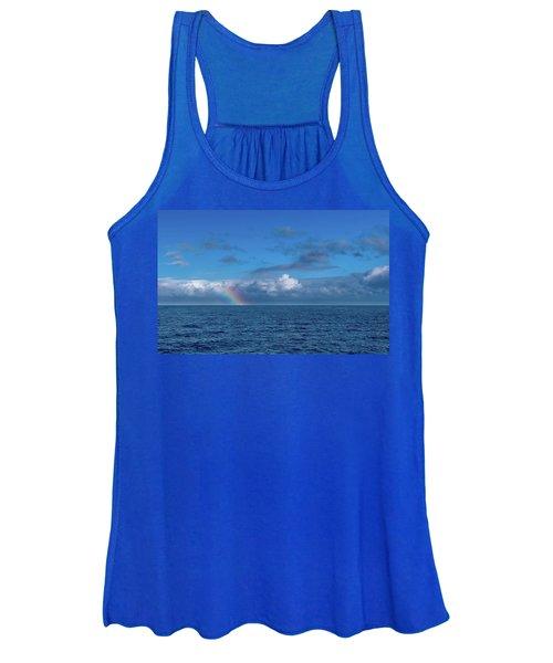 Blue Rainbow Horizon Women's Tank Top