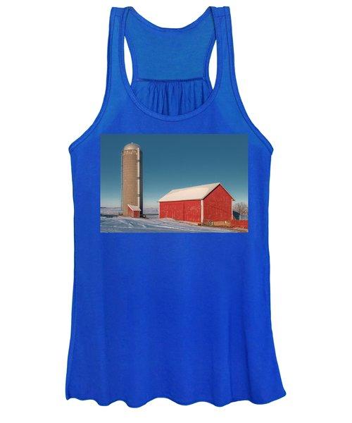County Highway F Barn Women's Tank Top