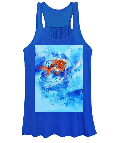 Fake Nemo Fish Women's Tank Top